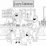 Burgers Coloringonly sketch template