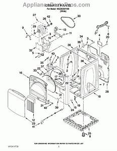 Kenmore Oasis Washer Parts Diagram