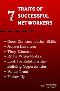 7 Traits Of Successful Networkers