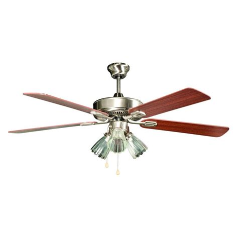 outdoor metal ceiling fans monte carlo colony max plus 52 in indoor outdoor brushed