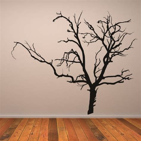 wall stickers tree  grasscloth wallpaper