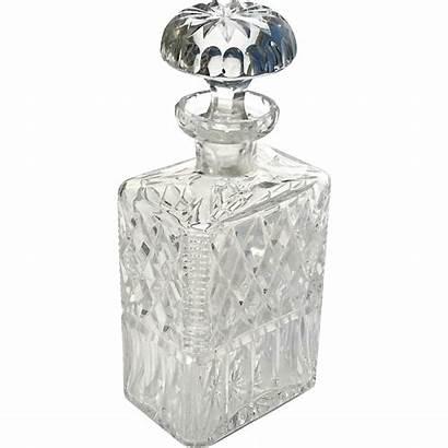 Liquor Crystal Decanter Antique Cut
