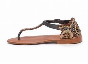 sandales nu pieds Atelier tropezien Pb821