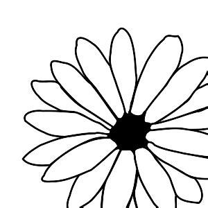 flower outline clip art clipart panda  clipart images