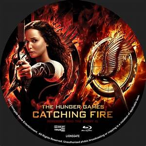 The Hunger Games Catching Fire - Custom DVD Labels ...