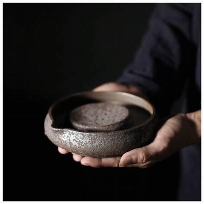 Glazed Tea Ceramic Trivet Pot Kungfu Accessory