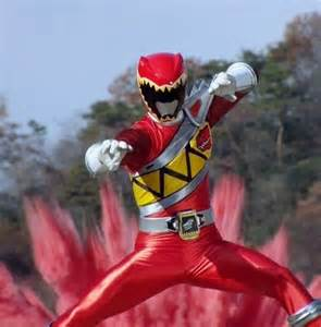 Red Power Rangers Dino Charge