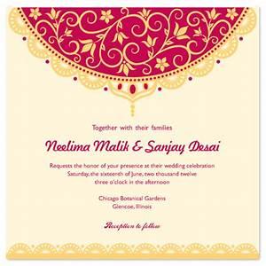 wedding invitations indian veil at mintedcom With indian wedding invitations minted