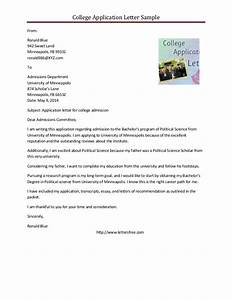 Letter Application Letter Application Sample For