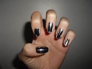 random silver nails