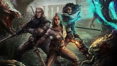 Ciri Witcher Geralt Wild Hunt Yen Resolution