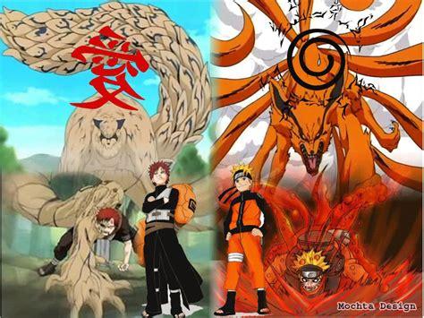 anime vs gaara 特種部隊 九尾