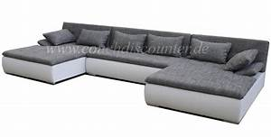 Big Sofa L Form : edle design wohnlandschaft u form mega big sofa u couch 410 cm neu top eur 990 00 ~ Eleganceandgraceweddings.com Haus und Dekorationen
