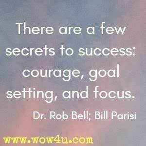 38 Goal Setting... Dr Joseph Bell Quotes