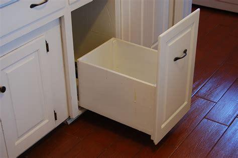 Cabinet Trash Can Slider Cabinets Matttroy