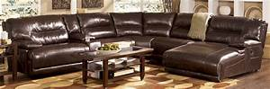 Faux Leather Sectional Sofa Ashley Faux Leather Sectional