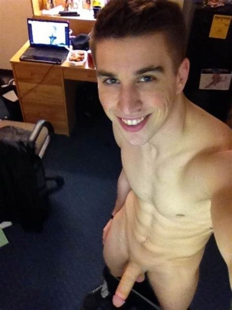 Nude Fratboy With A Beautiful Body - The Cock Collector