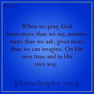 Best 25+ God answers prayers ideas on Pinterest   Answered ...