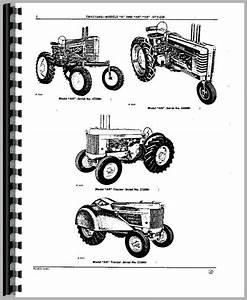 John Deere A Tractor Parts Manual