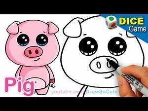 Download video: How to Draw a Cartoon Pig Cute and Easy ...