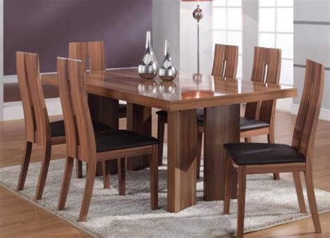 fascinating wooden dining table designs  warm
