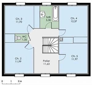 maison a etage 1 With plan maison 110m2 etage