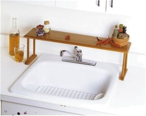 over the sink shelf kitchen lipper international bamboo over the sink shelf modern