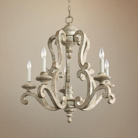 white washed wood chandelier cernel designs