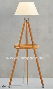 Stehlampe Aus Holz : stehlampe aus holz gamma lampode ~ Indierocktalk.com Haus und Dekorationen