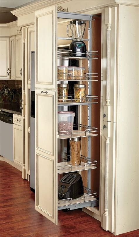 Compagnucci Pantry Units Pullout Softclose Chrome