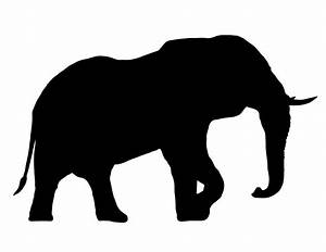 Elephant Clipart Silhouette | Clipart Panda - Free Clipart ...