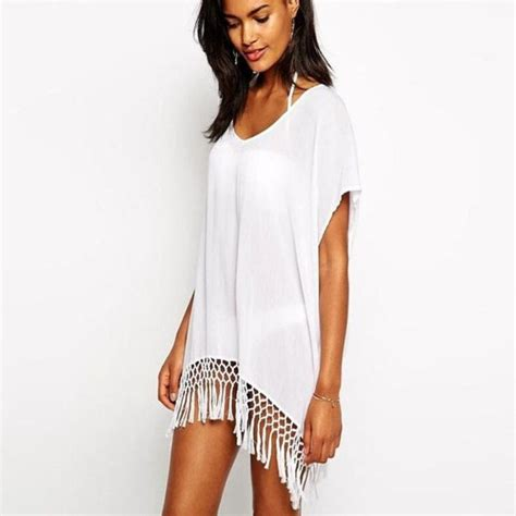 White Swimsuit Cover Up 1000 ideas about swim cover up dress on pinterest cover