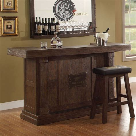 Bar Furniture For Home by Miller High 65 Inch Home Bar Set Eci Furniture