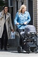 rachel weisz steps out for the first time with her baby ...