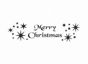 Merry Xmas Schriftzug : wandtattoo weihnachten schriftzug merry christmas ~ Buech-reservation.com Haus und Dekorationen