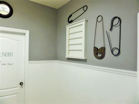 diy laundry room update beadboard paintable wallpaper be my guest with denise