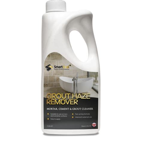 grout haze remover to remove grout and cement residue from