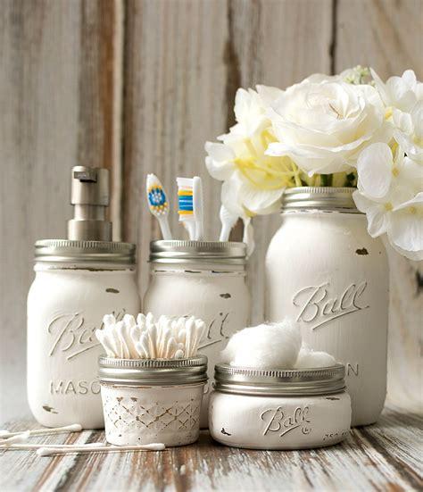 craft ideas for bathroom jar bathroom storage accessories jar