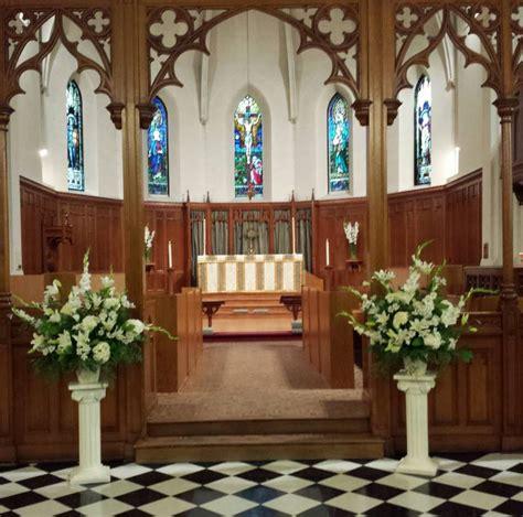 church altar flower arrangements dahlia floral design