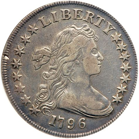 1796 Draped Bust Dollar - 1796 draped bust dollar large date small letters 1759012