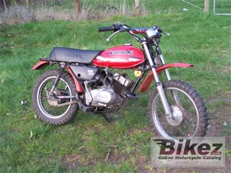 Kawasaki Km 100 by 1979 Kawasaki Km 100 Specifications And Pictures