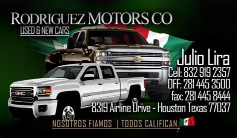 rodriguez motors  houston tx read consumer reviews
