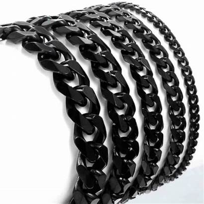 Curb Cuban Stainless Link Steel Chain Chains