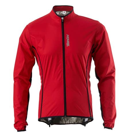 winter bicycle jacket 2014 santini mens activent windbreaker road bike racing