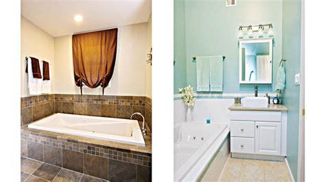 easy bathroom ideas remodeling on a dime bathroom edition saturday magazine