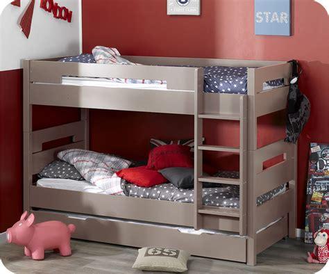 lit superpos 233 bow pour enfant couleur 90x190 cm achat vente lit enfant bois