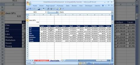 learn excel pivot tables how to create work with pivot tables pivottables in