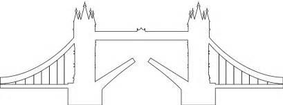 London Tower Bridge Silhouette | Free vector silhouettes