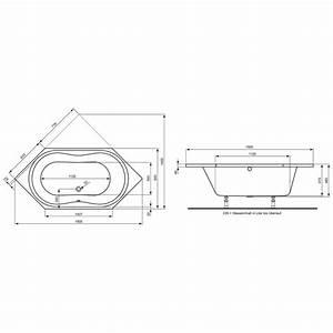 Sechseck Badewanne 190x90 : ideal standard aqua sechseck badewanne k621601 megabad ~ Orissabook.com Haus und Dekorationen