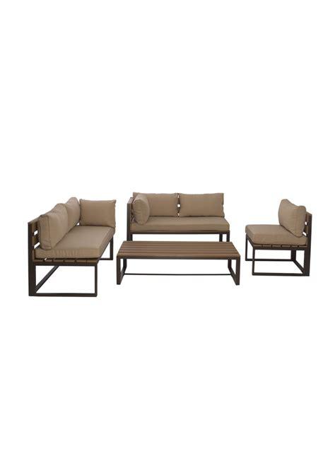 table et chaise exterieur ensemble lagoa bancs chaise et table basse pour extérieur